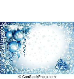 christmas_background - blue-white christmas background