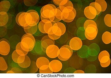 christmaslight., תקציר, bokeh, רקע