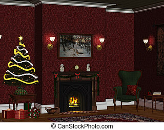 christmasroom 1