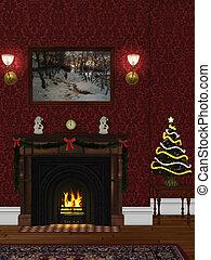 christmasroom