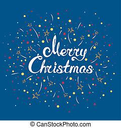 Christmassy winter background - Bright christmassy winter ...