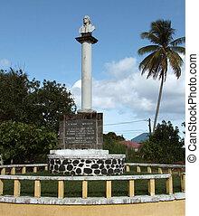 christopher colón, monumento conmemorativo