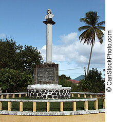Christopher Columbus Memorial in Guadeloupe