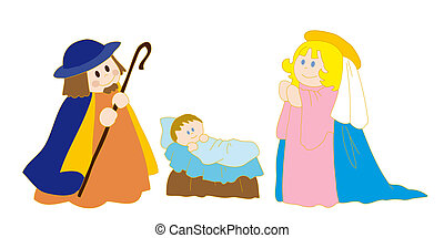 christ's, nativity.