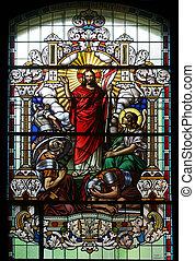 christus, gestiegen