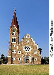 Christuskirche, famous Lutheran church landmark in Windhoek