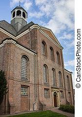 Christuskirche in the center of Emmerich am Rhein, Germany