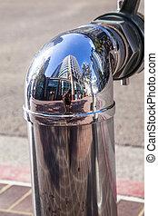 chrom, zünden hydranten