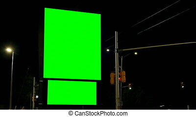 chroma, πράσινο , αδειάζω , νύκτα , οθόνη , πίνακαs...