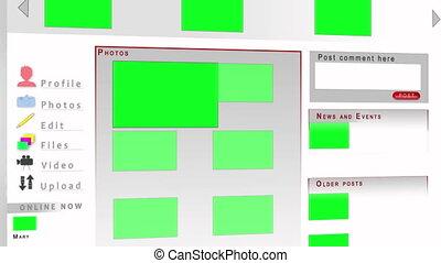 chroma, clã©, écrans, site web