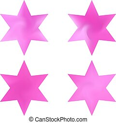 chromatic, conjunto, backgrounds., hexagram