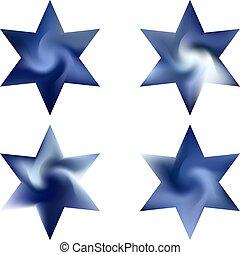 chromatic, conjunto, hexagram, backgrounds.
