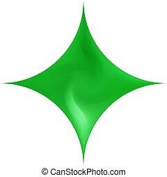 chromatic, fondo., diamond-shaped