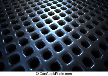 Chrome abstract background
