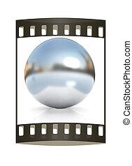 Chrome Ball. The film strip