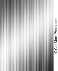 Chrome lines with light effects. Abstract illustration