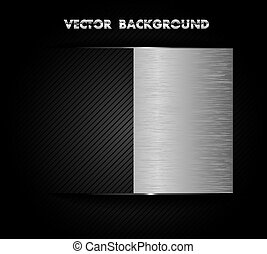 chrome metal background