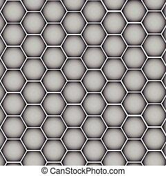 Chrome metal silver texture