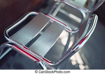 Chrome Patio Chair