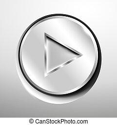 Chrome play button.