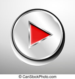 Chrome play (red) button.