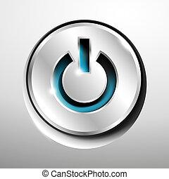 Chrome power button.