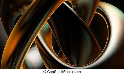 Chrome reflection - Motion chrome reflection loop