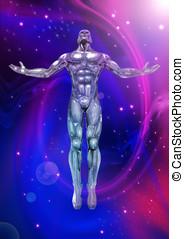 chromeman, energie, positiv