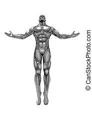 Chromeman_Positive Energy - Chromeman with open arms,...