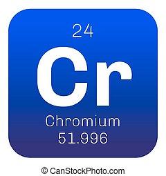 Chromium chemical element