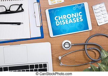 CHRONIC DISEASES Healthcare modern medical Doctor concept