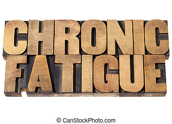 chronic fatigue in wood type - chronic fatigue - isolated...