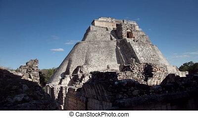 chronocinématographie, 21, décembre, mexico., maya, uxmal, volonté, evénements, transformative, 2012., croire, ruines, produire, mayans