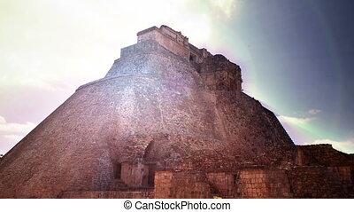 chronocinématographie, 21, mayans, décembre, mexico., maya, uxmal, volonté, evénements, transformative, croire, ruines, produire, 2012