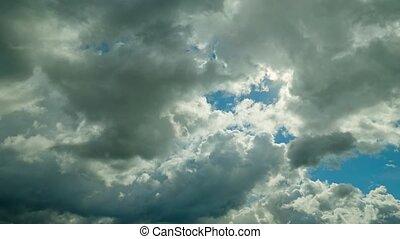 chronocinématographie, nuages, morose