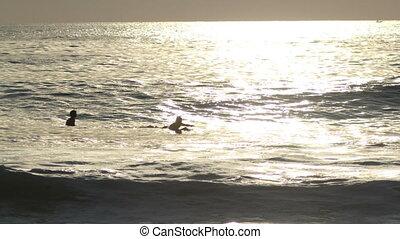 chronocinématographie, surfers, coup, mexique