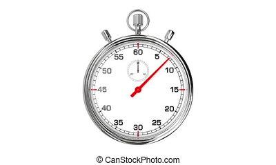 chronomètre, boucle, realtime