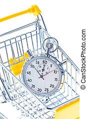 chronomètre, chariot