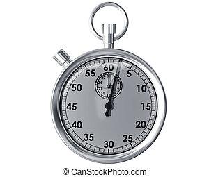 chronomètre, isolé