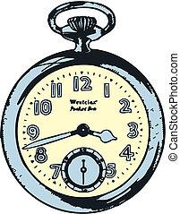 chronometer, alt gestaltet