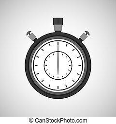 chronometer icon design
