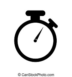 chronometer icon design , vector