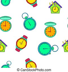Chronometer pattern, cartoon style