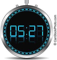 chronometrażysta, cyfrowy