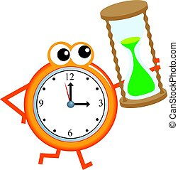chronometrażysta, czas