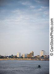 chroy changva riverside in Phnom Penh Cambodia