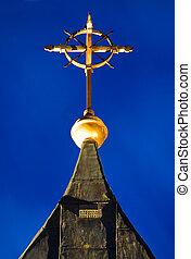 chruch, croix