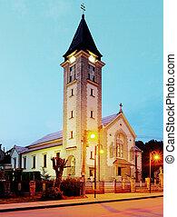 Chruch in Terchova village - Slovakia - Terchova village -...