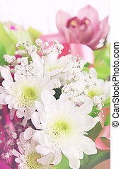 chrysanthèmes, fleur, composition