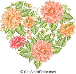 Chrysanthemum holiday card. - Chrysanthemum holiday card for...